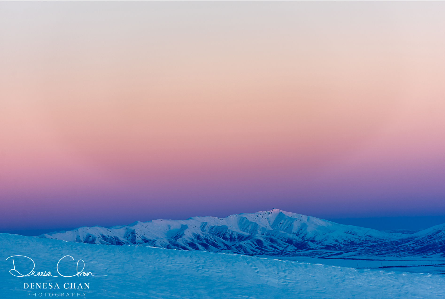 Gammak_Range_Snow_Earths_Shadow_Sunset_South_Island_New_Zealand_©_Denesa_Chan_Photography_3399