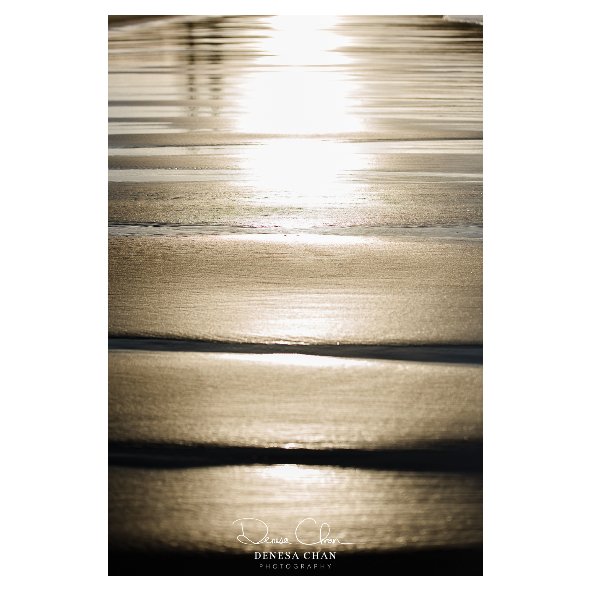 Abstract Photography Sunset Sand Golden Hour Denesa Chan Photographer Medlands Beach New Zealand Cop