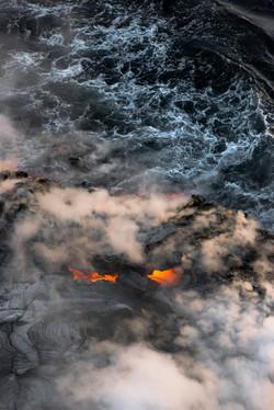 Lava meets the ocean Hawaii Copyright Denesa Chan-33 copy