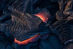 Lava meets the ocean Hawaii Copyright Denesa Chan-25 copy