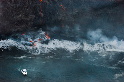 Lava meets the ocean Hawaii Copyright Denesa Chan-10 copy