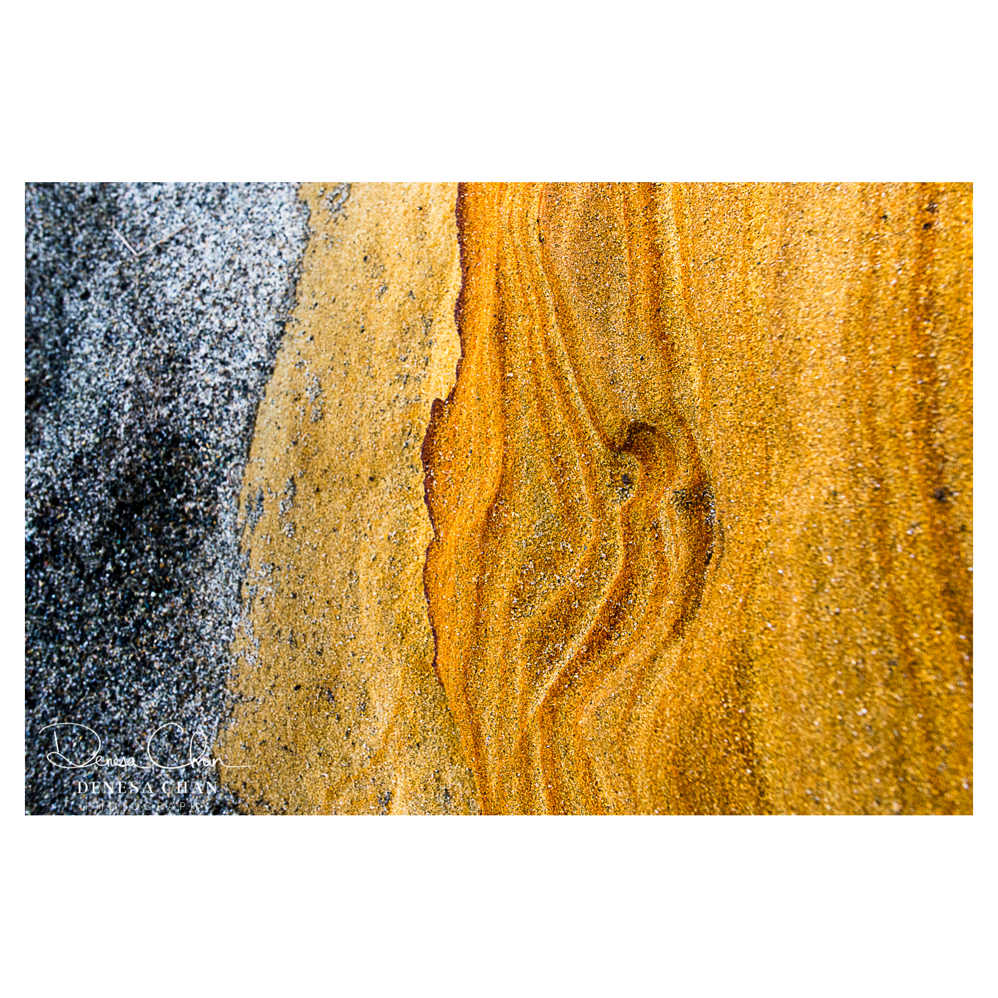 Gemstone_Beach_Orange_Sandstone_Lines_South_Island_©_Denesa_Chan_Photography_7705