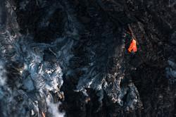 Lava meets the ocean Hawaii Copyright Denesa Chan-28 copy
