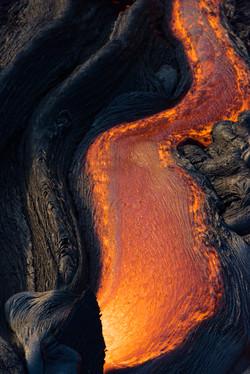 Lava meets the ocean Hawaii Copyright Denesa Chan-27 copy