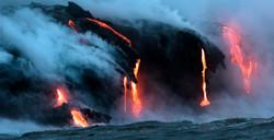 Lava Ocean Entry By Boat Copyright Denesa Chan-3889