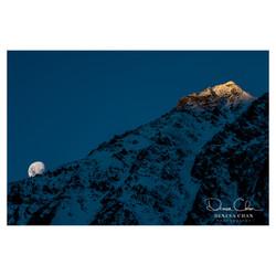 Mt_Cook_Sunset_Shadow_Climbing_Up_Mountain_Moon_New_Zealand_South_Island_©_Denesa_Chan_Photography_4
