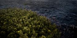 Lava meets the ocean Hawaii Copyright Denesa Chan-4 copy