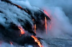 Lava Ocean Entry By Boat Copyright Denesa Chan-3873
