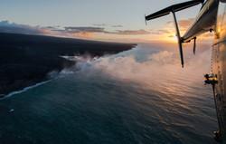 Lava meets the ocean Hawaii Copyright Denesa Chan-9 copy