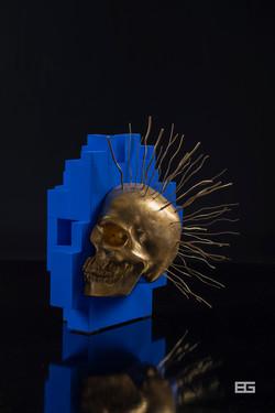 Punk_Skull_Face_Pixel 3d_BD