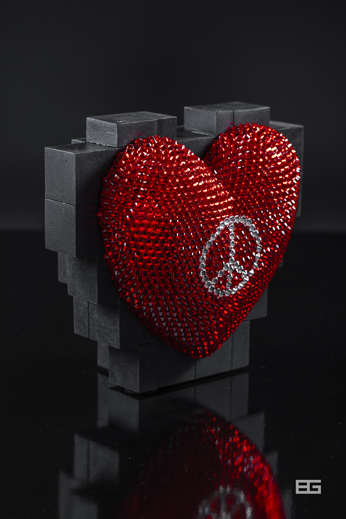 Peace Hart Pixel 3d