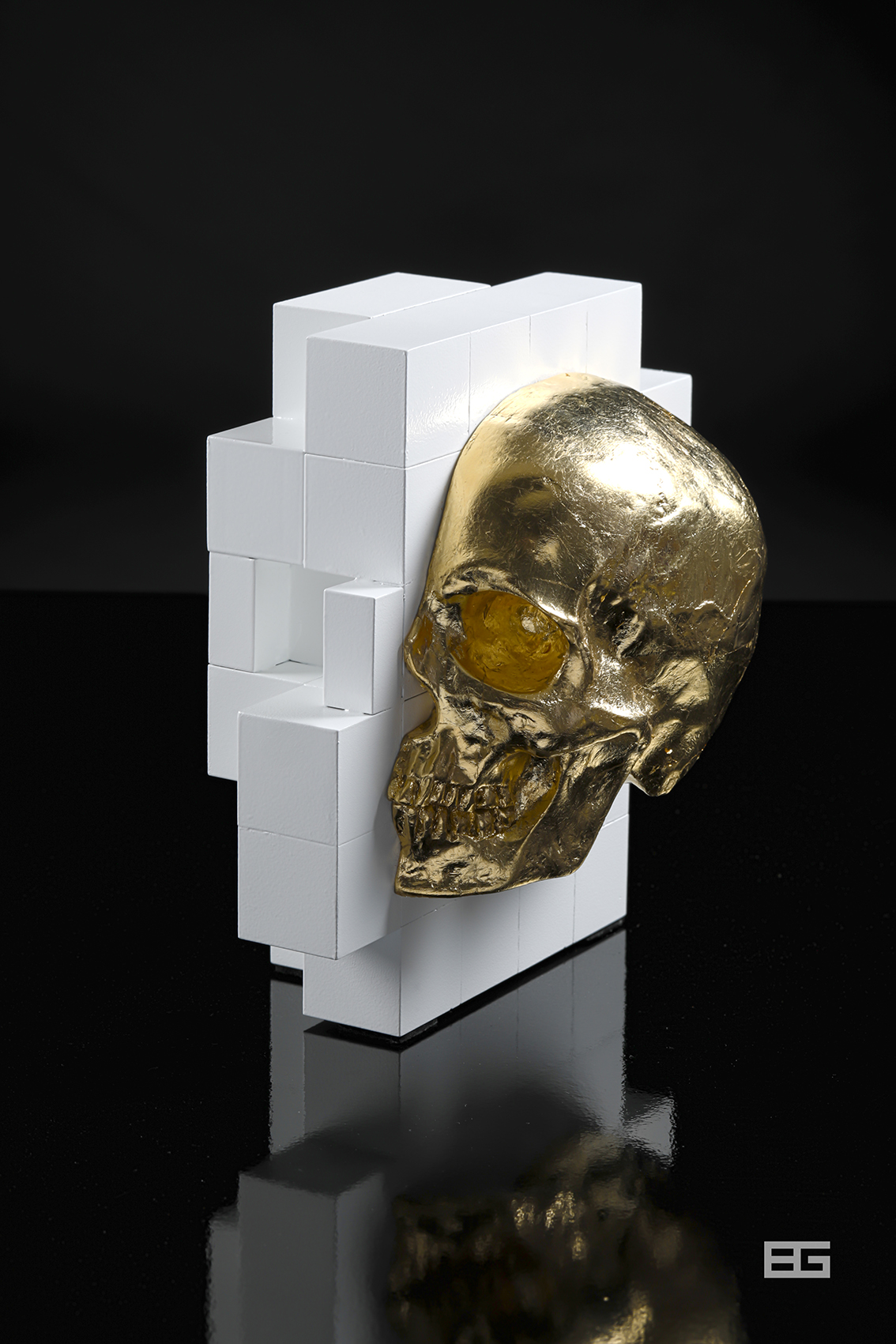 Gold_Skull_Pixel 3d_BD