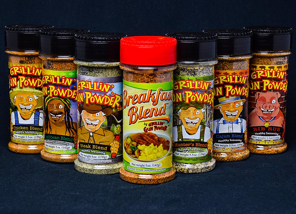 World Spice Traveler 7-Pack