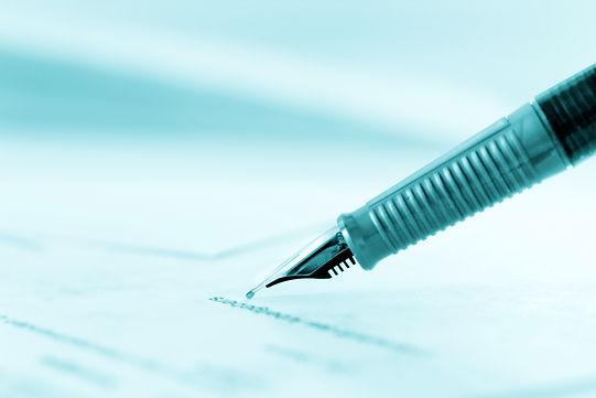 caneta tinteiro, assinatura, executivo, cartório