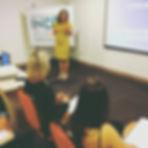 Dra. Letícia Franco Maculan Assumpção em aula no Indic