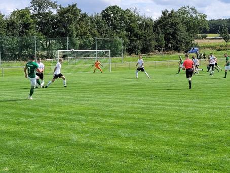 SG erspielt sich ein hochverdientes 2:2 gegen DJK Hirschfeld