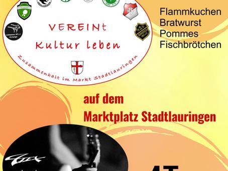 """Kultursommer in Stadtlauringen """"VEREINt Kultur leben"""