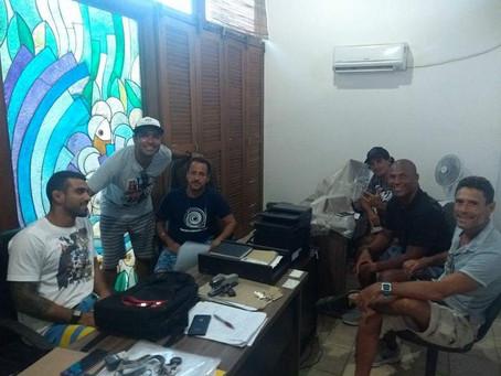 Associação de Surf planeja 2018 em reunião