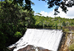 Cachoeira da usina (Jeribucaçu)