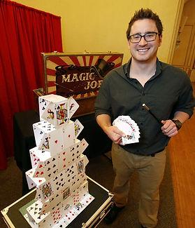 Magician. Magic Joe in the News