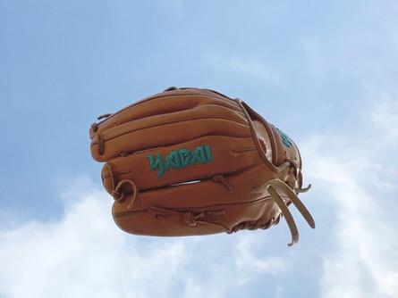 Breaking in a Ball Glove