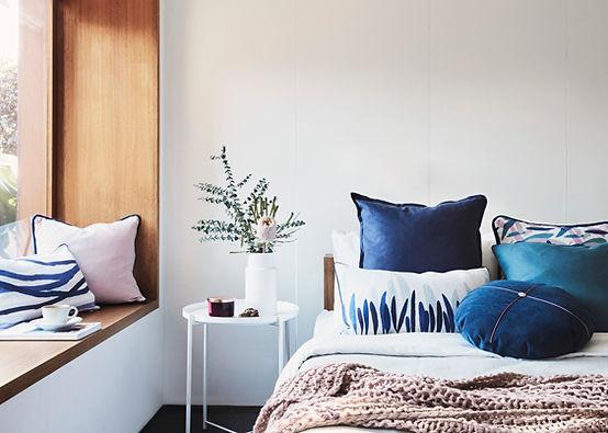 LEURA bedroom by littlecrow design