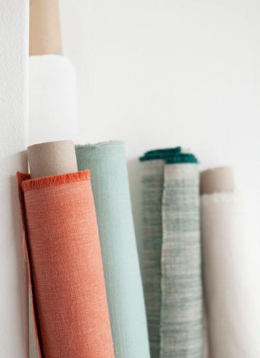 Quality woven fabrics. Australian suppliers. litlecrow design.