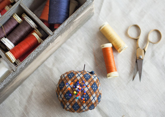Thread. Gutterman Rasant in every colour. littlecrow design