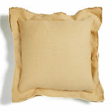 Sandstone luxury linen cushion