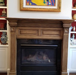 Atlanta Faux Fireplace Mantel