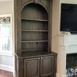 Atlanta Faux Built in Bookcase