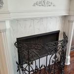 Atlanta Faux Fireplace aged
