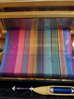 SOLD Customized bamboo scarf