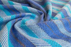 Cotton twill blanket