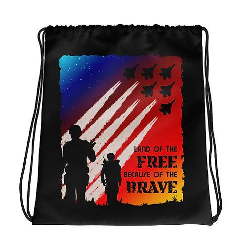 Drawstring Bag | Land of the Free