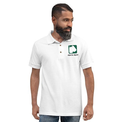 Embroidered Polo Shirt | Badges of Honor (Military)
