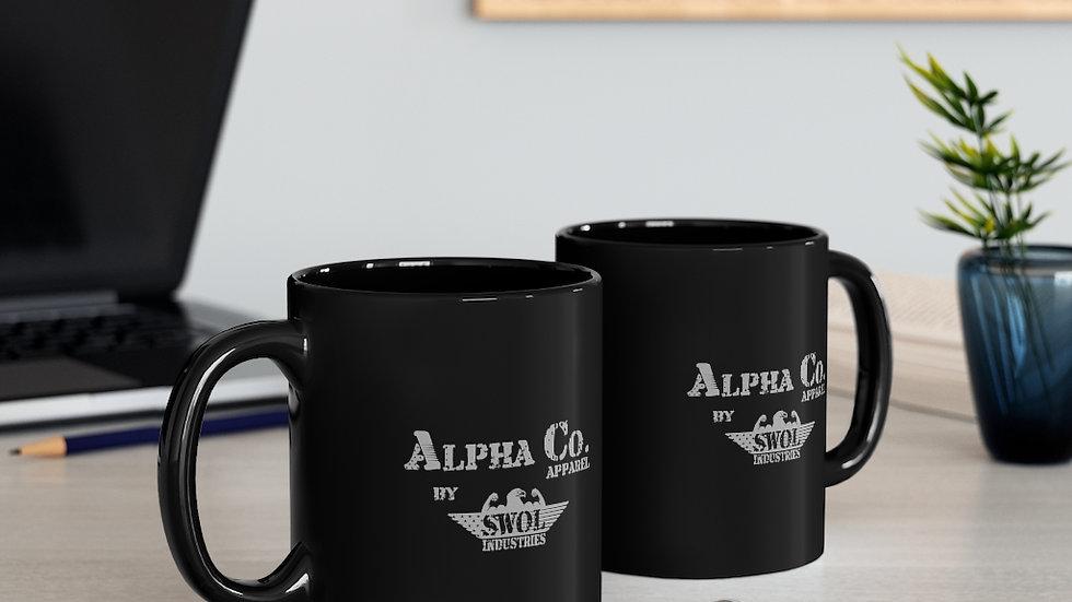 Coffee Mug (11oz) | Alpha Co. Apparel by SWOL Industries (Subdued)