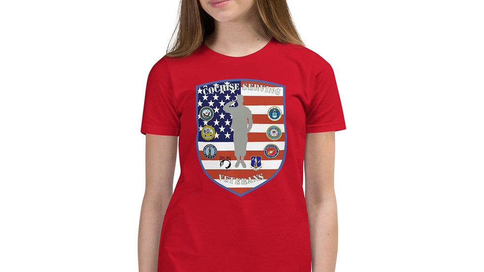 Youth Short Sleeve T-Shirt | Cochise Serving Veterans