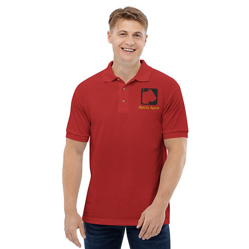 Embroidered Polo Shirt | Badges of Honor (Military, USMC)