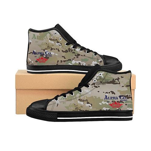 Men's High-top Sneakers | Alpha Co. Apparel (MultiCam)