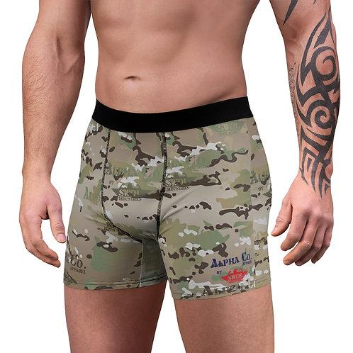 Men's Boxer Briefs | Alpha Co. Apparel (MultiCam)
