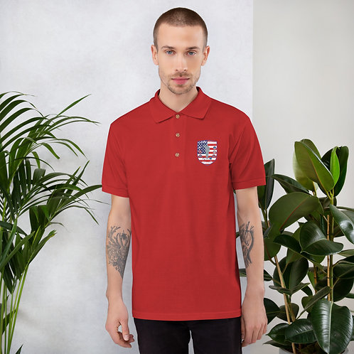 Embroidered Polo Shirt | Cochise Serving Veterans