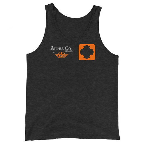 Classic Tank | Badges of Honor (Firefighter, Charcoal & Orange)