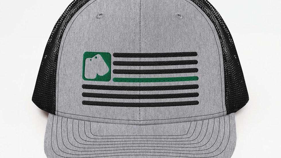 Trucker Cap | BOH Flag (Military)