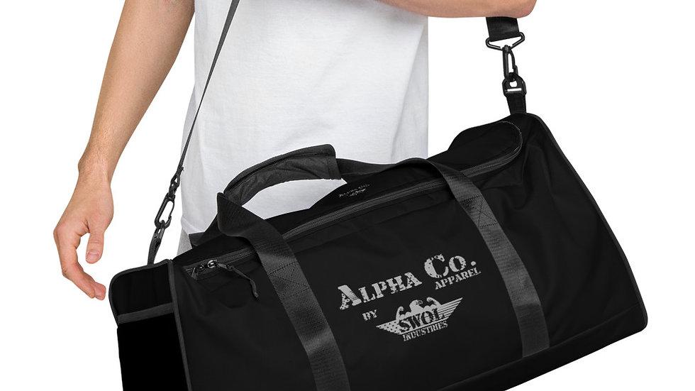 Duffle Bag | Alpha Co. Apparel | Subdued (Black)