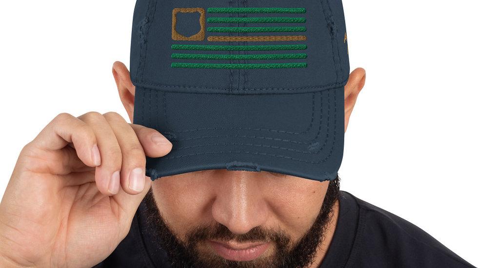 Distressed Hat | BOH Flag (Law Enforcement-Border Patrol)