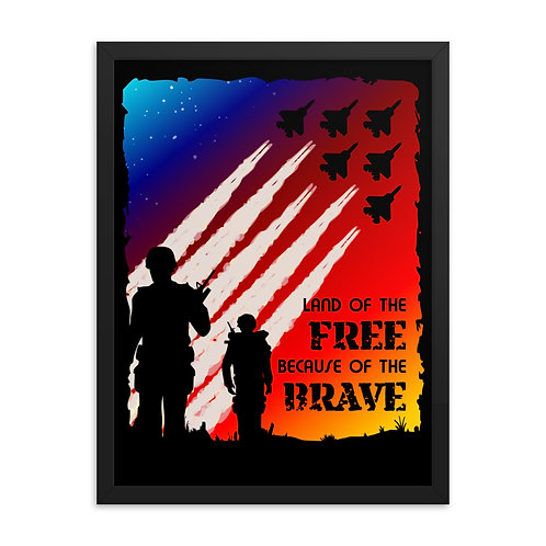 Framed Poster | Land of the Free