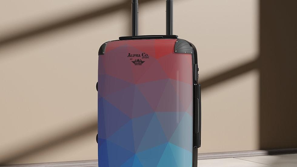 Cabin Suitcase | Alpha Co. Apparel | TempGeo
