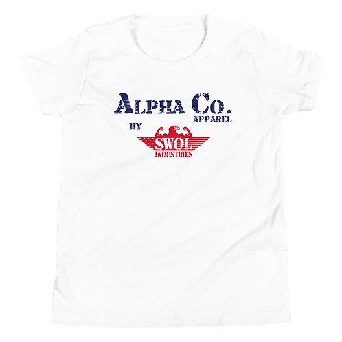 Youth T-Shirt | Alpha Co. Apparel (RWB)