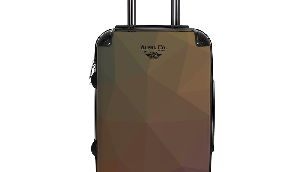Cabin Suitcase   Alpha Co. Apparel   DesertGeo Camo